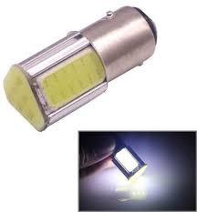 car brake light bulb generic 1157 4 5w 240lm white light 4 led cob car brake light