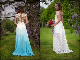 coloured wedding dresses uk can t colourful wedding dresses mr mrs unique