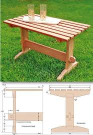 Building Outdoor Wood Table by Best 25 Outdoor Coffee Tables Ideas On Pinterest Industrial