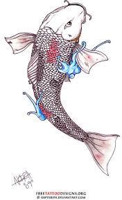 white koi fish design iwak koi fish