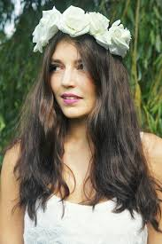 white flower headband 50 best flower crowns images on halo flower crown and