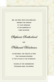classic wedding invitations shop classic wedding invitations magnetstreet