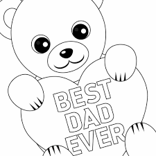 free printable father u0027s day coloring card and page