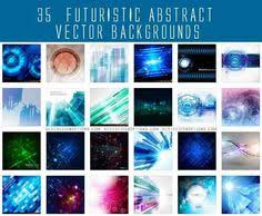 abstract futuristic background vector free vector tech style