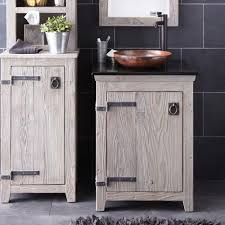 Bath Vanity Cabinets Bathroom Reclaimed Wood Bathroom Vanity For Access And Storage