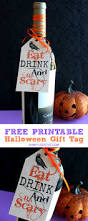 halloween party scary ideas eat drink and be scary free printable halloween gift tag more