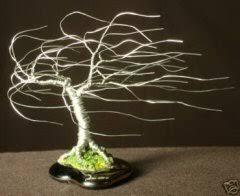 bonsai tree sculpture for sale windswept mini tree 4x5x5