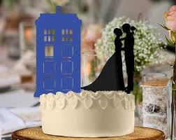 tardis wedding cake topper sessions signage by sessionssignage on etsy