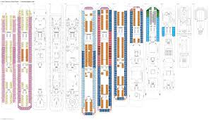 carnival sunshine floor plan costa fascinosa deck plans diagrams pictures video