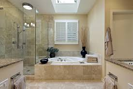 Simple Bathroom Makeovers By Replacement Of Wall With Marble Tiles - Simple bathroom makeover