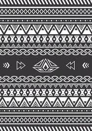 aztec wallpaper black and white google search aztec