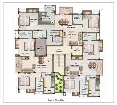 28 design floor plan 3 bedrooms duplex floor flats plan