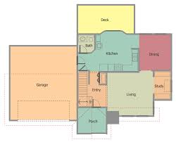 floor plans for building a house conceptdraw sles building plans floor plans