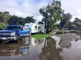Carpinteria State Beach Campground Map by Pismo Beach Campground Remains Closed Following Flooding Ksby