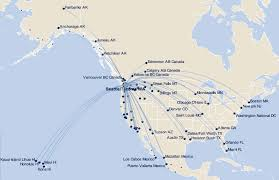 alaska air map alaska airlines adds summer service from portland to billings and