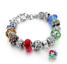 bracelet luxury crystal images Tn luxury crystal charm bracelet with pendant womens luxury jpg
