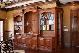 Library Office by Shadowhill Custom Wood
