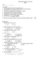 Factoring X2 Bx C Worksheet True Or False Quadratic Equation Mathematical Relations