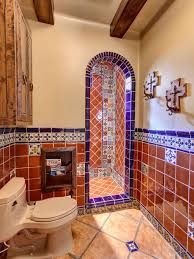 mexican tile bathroom ideas mexican tile bathroom home design ideas pictures remodel and