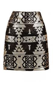 sequin skirt black and gold sequin skirt black and gold aztec skirt black and
