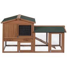 Advantek Stilt House Rabbit Hutch Amazon Com Tangkula 58