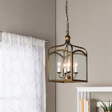 Pendant Light For Entryway Shop For Ashley Bronze 4 Light Foyer Hanging Lantern Get Free