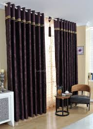 dark purple bedroom curtains also suitable for living room