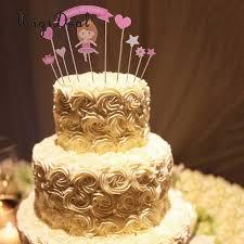 princess baby shower cake magideal lovely pink 1set princess baby girl kids happy birthday
