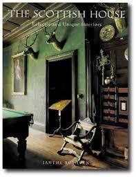 scottish homes and interiors grand and scottish country house interior decor books