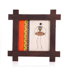 wooden wall hanging wooden wall hanging jute warli wedtree returngifts