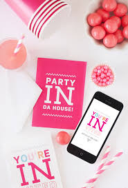 Printable Party Invitation Cards Digital Party Invite Cards Texts Digital Invitations And Free