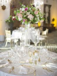 Wedding Centerpieces For Round Tables tall floral centerpiece on round table photography lane dittoe