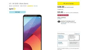 sprint best buy black friday 2016 phone deals sprint lg g6 deal for father u0027s day effectively made it 90 pocketnow