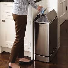 poubelle cuisine design pas cher poubelle cuisine 50l design maison design bahbe com