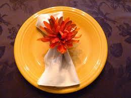 thanksgiving napkin rings craft make it easy crafts thanksgiving recycled floral napkin ring