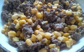 recette de cuisine viande recette viande hachée et maïs pas chère et rapide cuisine étudiant