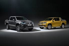 new high spec volkswagen amarok models all set for frankfurt motor