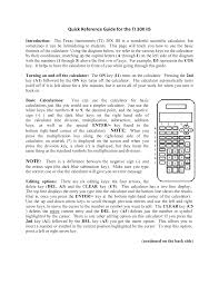 download free pdf for ti ti 30x iis calculator manual