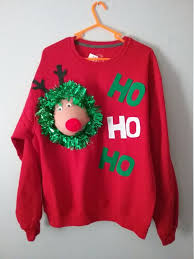 rudolph sweater 94 best sweater images on ugliest