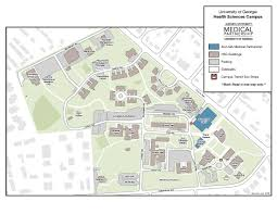 Georgia State University Campus Map by Health Science Campus About Medical Partnership