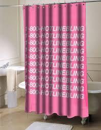 Drake Design Home Decor 1 800 Hotline Bling Drake Shower Curtain Customized Design For