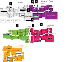 Dallas Galleria Map Map Of Galleria Mall Center Map Of The Galleria A Shopping Center