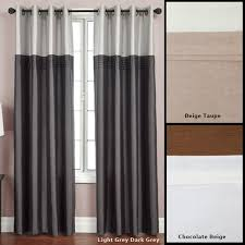95 Inch Curtain Panels Softline Flight Lined Grommet Top 95 Inch Curtain Panel 54 X 95