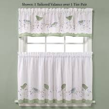 Jc Penneys Kitchen Curtains Kitchen Contemporary Cotton Cafe Curtains Bathroom Window