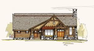 elk view log cabin house plans log home designs