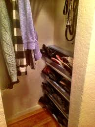 diy wall shoe rack on the cheap my inside alcove shoe storage