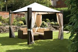 Outdoor Gazebo With Curtains Curtains For Gazebo