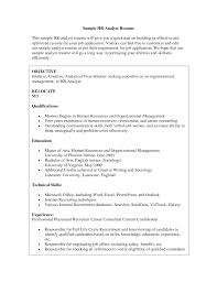 director human resources resume amazing chic human resources resume objective 12 for hr retail i