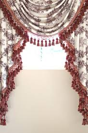 Country Curtains Far Hills Nj Pink Floral Swags And Jabots Valance Curtain Drapes Http Www