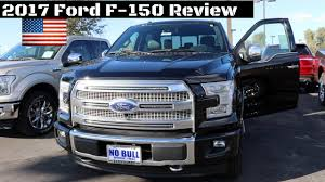 ford platinum 2017 ford f 150 platinum review